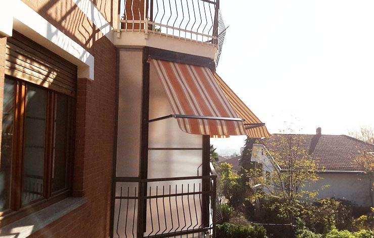 Tende veranda a Torino
