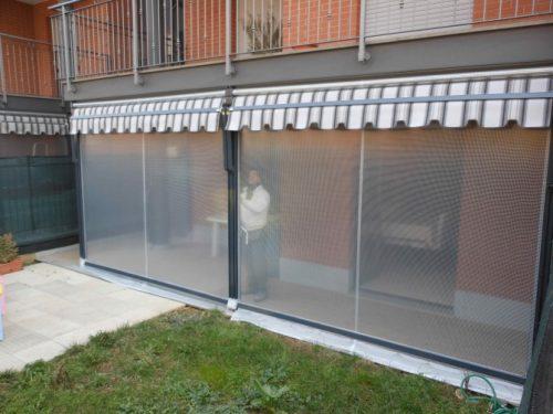 Tenda veranda doppio rullo estate inverno 300 x 300