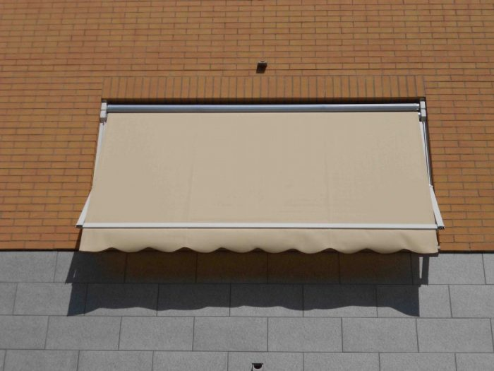 Tenda veranda doppio rullo estate inverno ermetica 300X300