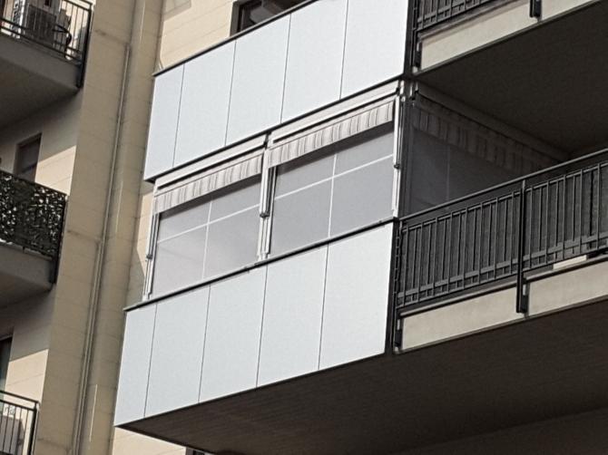 Tenda veranda doppio rullo estate inverno ermetica 300 x 300