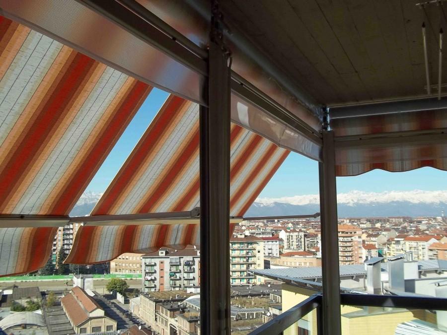 Tenda veranda ermetica