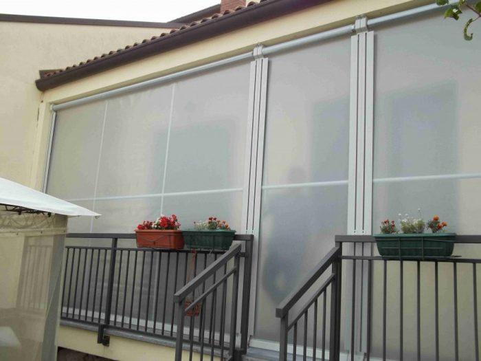 Tenda veranda invernale ermetica