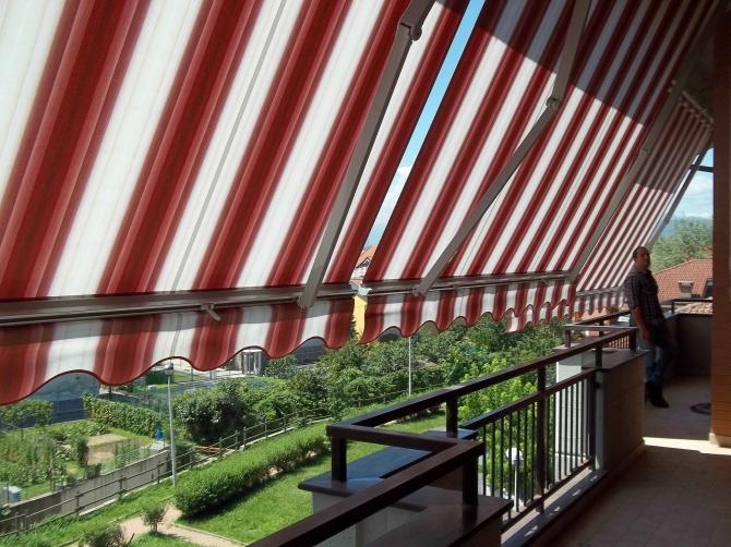 Garanzia tessuti tende da sole