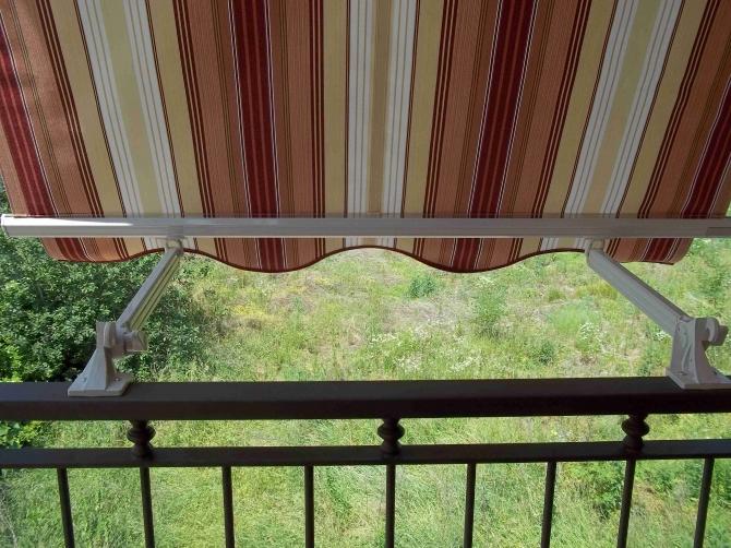 Tenda da balcone con braccetti 240X250