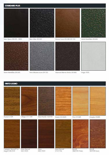 Colori reti profili SqualoNet 03