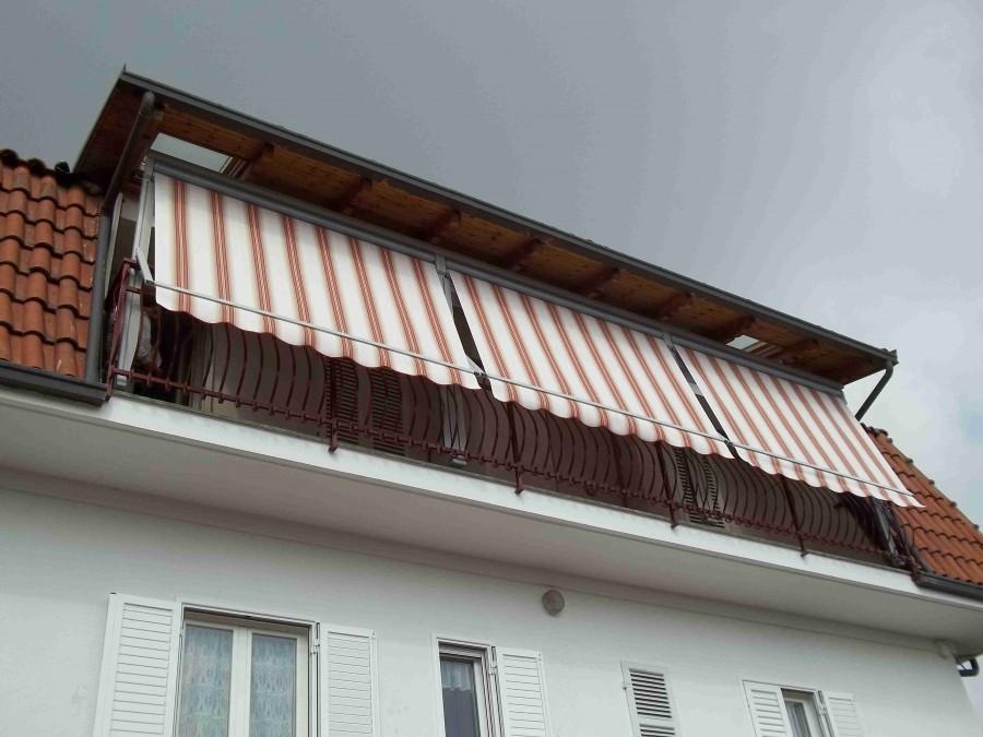 Tenda veranda e travi di legno 05