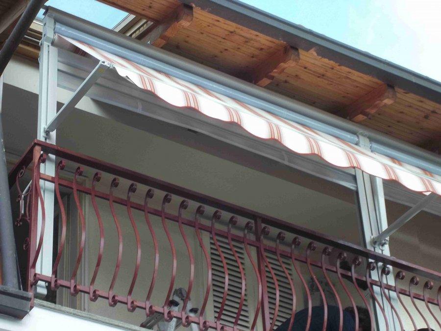 Tenda veranda e travi di legno 08