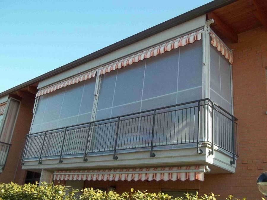 Tenda veranda e travi di legno 11