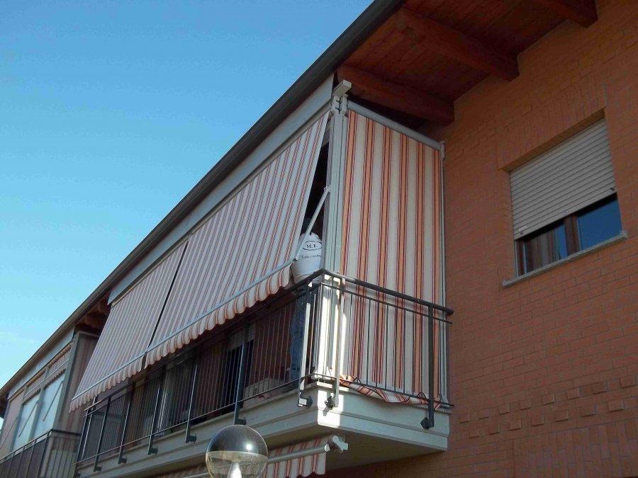 Tenda veranda e travi di legno 13