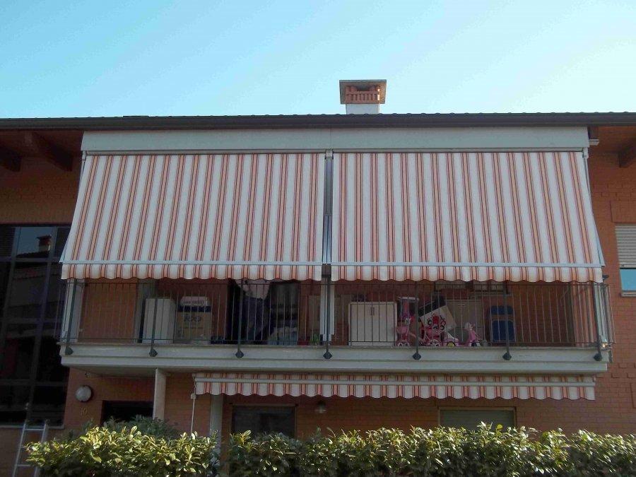Tenda veranda e travi di legno 14
