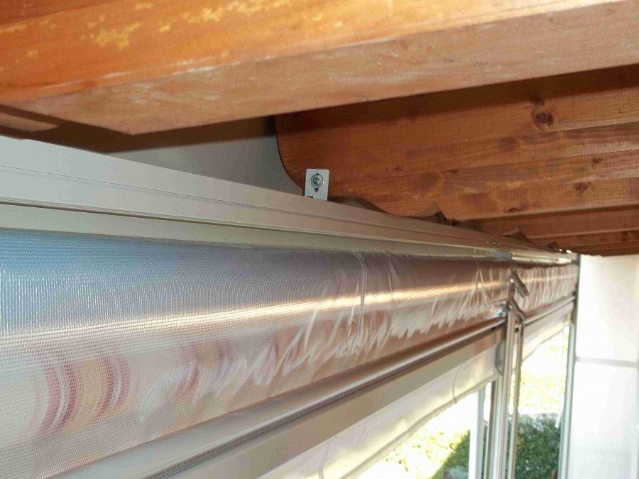 Tenda veranda e travi di legno 16