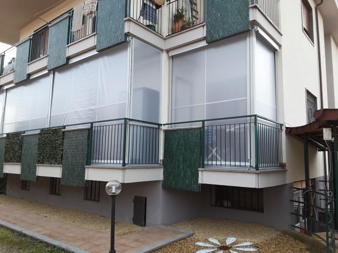 Tende veranda a Riva di Chieri M.F. Tende 01119714234