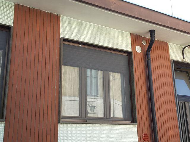 Zanzariera verticale installata a Torino