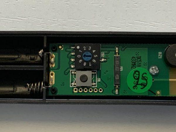 Tasto program sensore Teknos TSV