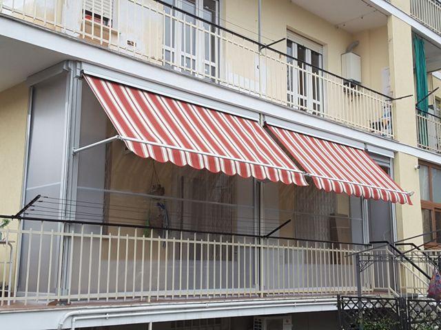 Tenda veranda installata a Cambiano
