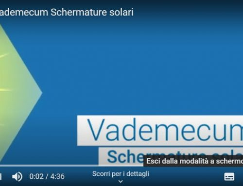 Sintesi Vademecum Schermature solari Enea in video