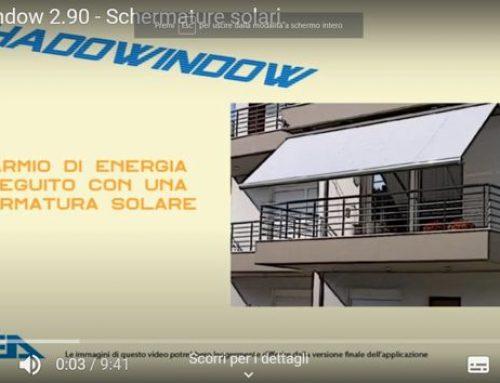 Video descrizione applicazione ShadoWindow Enea