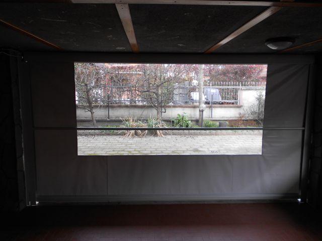 Tenda invernale telo PVC finestra cristal trasparente