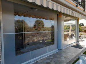 Tenda veranda invernale finestra cristal