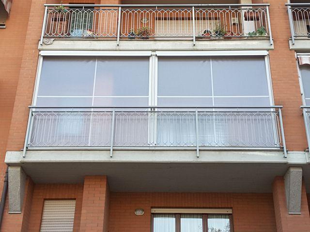Tende invernali balcone