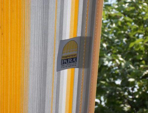 Come confezioniamo i teli per le tende da sole