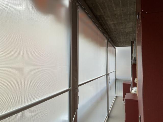 Tende veranda Torino vista interna