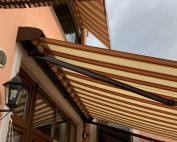 Tenda da sole installata a Torino